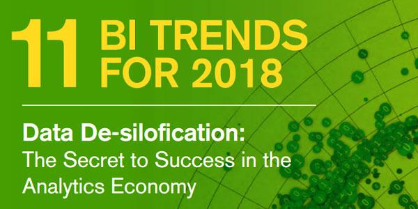11 BI Trends for 2018